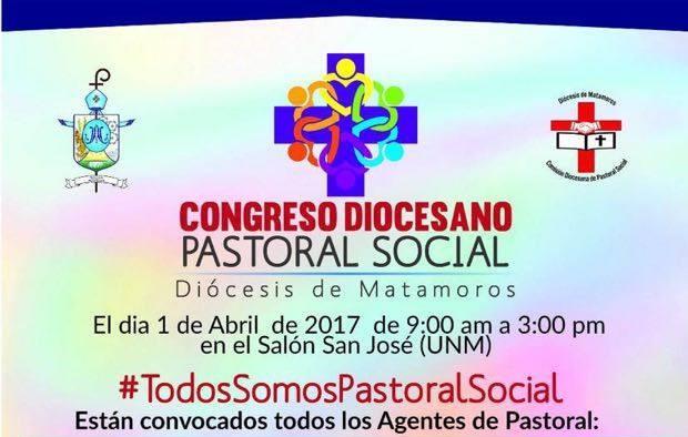 Se llevará a cabo el Congreso Diocesano de Pastoral Social